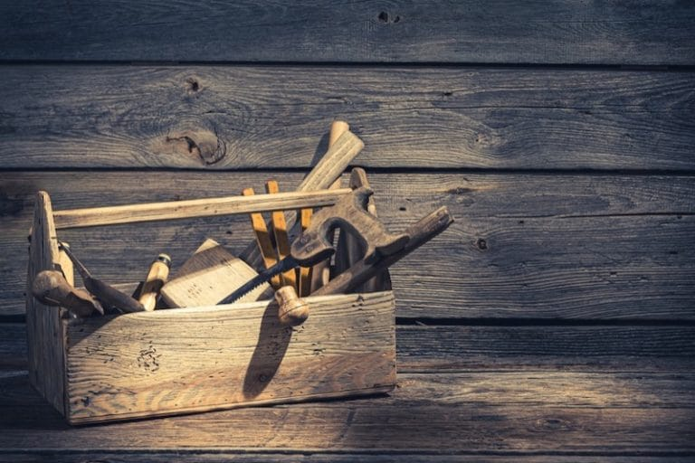 How to Care for a Wooden Tool Box