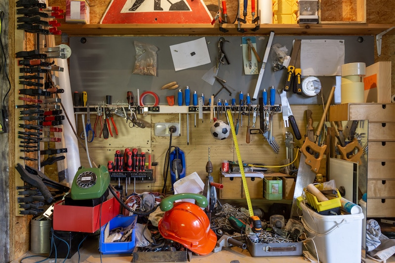 5 Different Tool Storage Options For Your Workshop