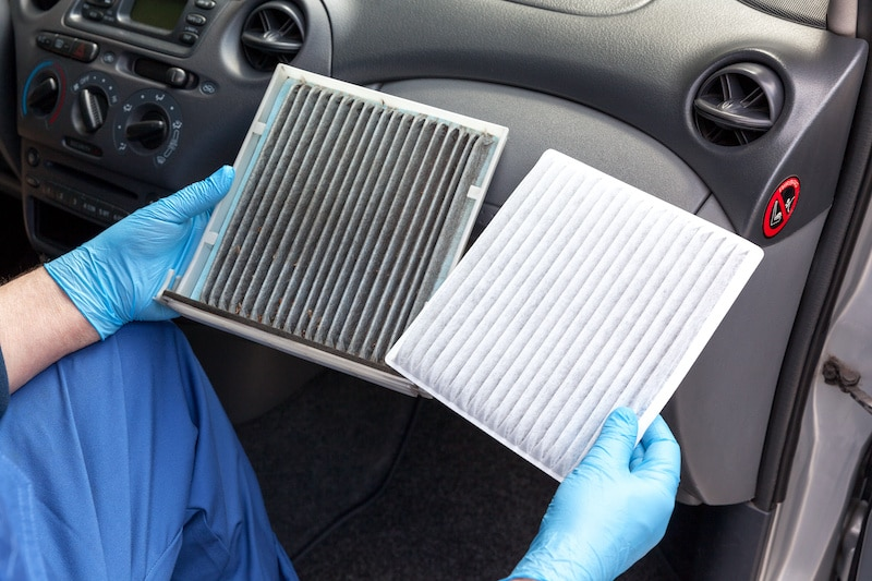 your car's air filter should be changed at least ever 30,000 miles