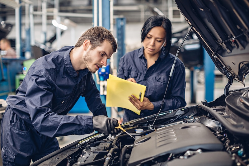 you should have your car professionally inspected regularly