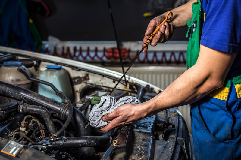 how often you need to change your engine's oil depends on the type of oil it uses