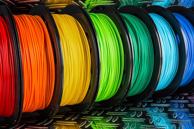Types of Filaments for 3D Printers